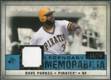 2008 Upper Deck SP Legendary Cuts Legendary Memorabilia Blue #DP Dave Parker /99