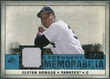 2008 Upper Deck SP Legendary Cuts Legendary Memorabilia Blue #EH Elston Howard /99