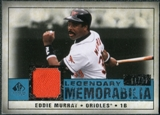 2008 Upper Deck SP Legendary Cuts Legendary Memorabilia Blue Parallel #EM Eddie Murray /99
