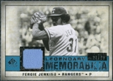 2008 Upper Deck SP Legendary Cuts Legendary Memorabilia Blue Parallel #FJ Fergie Jenkins /99