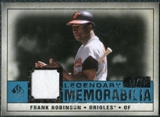 2008 Upper Deck SP Legendary Cuts Legendary Memorabilia Blue #FR Frank Robinson /99