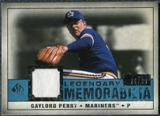 2008 Upper Deck SP Legendary Cuts Legendary Memorabilia Blue #GP Gaylord Perry /99