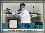 2008 Upper Deck SP Legendary Cuts Legendary Memorabilia Blue #HK Harmon Killebrew /99