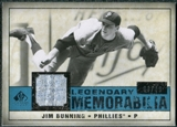 2008 Upper Deck SP Legendary Cuts Legendary Memorabilia Blue Parallel #JB Jim Bunning /99