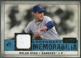 2008 Upper Deck SP Legendary Cuts Legendary Memorabilia Blue Parallel #NR Nolan Ryan /99