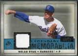 2008 Upper Deck SP Legendary Cuts Legendary Memorabilia Blue Parallel #NR2 Nolan Ryan /99