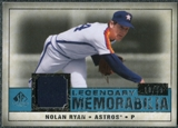 2008 Upper Deck SP Legendary Cuts Legendary Memorabilia Blue Parallel #NR3 Nolan Ryan /99