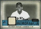 2008 Upper Deck SP Legendary Cuts Legendary Memorabilia Blue Parallel #OC Orlando Cepeda /51