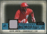 2008 Upper Deck SP Legendary Cuts Legendary Memorabilia Blue #OS Ozzie Smith /99