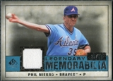 2008 Upper Deck SP Legendary Cuts Legendary Memorabilia Blue #PN Phil Niekro /99