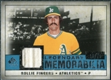 2008 Upper Deck SP Legendary Cuts Legendary Memorabilia Blue Parallel #RF Rollie Fingers /75