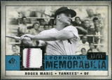2008 Upper Deck SP Legendary Cuts Legendary Memorabilia Blue Parallel #RM Roger Maris /99