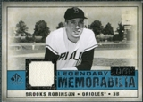 2008 Upper Deck SP Legendary Cuts Legendary Memorabilia Blue Parallel #RO Brooks Robinson /99