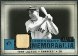 2008 Upper Deck SP Legendary Cuts Legendary Memorabilia Blue Parallel #TL Tony Lazzeri /40
