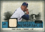 2008 Upper Deck SP Legendary Cuts Legendary Memorabilia Blue Parallel #TO Tony Oliva /25