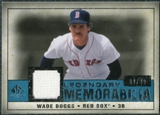 2008 Upper Deck SP Legendary Cuts Legendary Memorabilia Blue Parallel #WB2 Wade Boggs /99