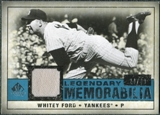 2008 Upper Deck SP Legendary Cuts Legendary Memorabilia Blue Parallel #WF Whitey Ford /99