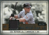 2008 Upper Deck SP Legendary Cuts Legendary Memorabilia Copper #CR2 Cal Ripken Jr. /75