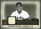2008 Upper Deck SP Legendary Cuts Legendary Memorabilia Copper #OC Orlando Cepeda /55