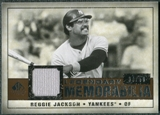 2008 Upper Deck SP Legendary Cuts Legendary Memorabilia Copper Parallel #RJ Reggie Jackson /50