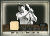 2008 Upper Deck SP Legendary Cuts Legendary Memorabilia Copper #TL Tony Lazzeri /25