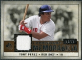 2008 Upper Deck SP Legendary Cuts Legendary Memorabilia Copper Parallel #TP2 Tony Perez /75