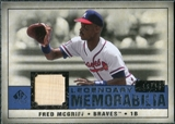 2008 Upper Deck SP Legendary Cuts Legendary Memorabilia Dark Blue Parallel #FM Fred McGriff /25
