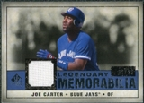 2008 Upper Deck SP Legendary Cuts Legendary Memorabilia Dark Blue #JC Joe Carter /25
