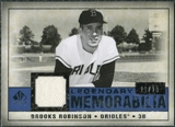 2008 Upper Deck SP Legendary Cuts Legendary Memorabilia Dark Blue Parallel #RO Brooks Robinson 22/25