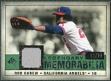 2008 Upper Deck SP Legendary Cuts Legendary Memorabilia Dark Green #CA Rod Carew /29
