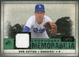 2008 Upper Deck SP Legendary Cuts Legendary Memorabilia Dark Green Parallel #DS Don Sutton /20