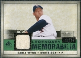 2008 Upper Deck SP Legendary Cuts Legendary Memorabilia Dark Green Parallel #EW Early Wynn /24