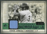 2008 Upper Deck SP Legendary Cuts Legendary Memorabilia Dark Green Parallel #FJ Fergie Jenkins /31