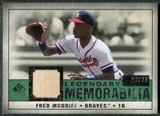 2008 Upper Deck SP Legendary Cuts Legendary Memorabilia Dark Green #FM Fred McGriff /27