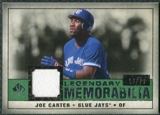 2008 Upper Deck SP Legendary Cuts Legendary Memorabilia Dark Green Parallel #JC Joe Carter /29