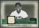 2008 Upper Deck SP Legendary Cuts Legendary Memorabilia Dark Green #OC Orlando Cepeda /30
