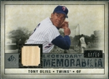 2008 Upper Deck SP Legendary Cuts Legendary Memorabilia Gray Parallel #TO Tony Oliva /10