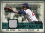 2008 Upper Deck SP Legendary Cuts Legendary Memorabilia Green Parallel #CA Rod Carew /99