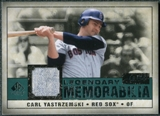 2008 Upper Deck SP Legendary Cuts Legendary Memorabilia Green Parallel #CY Carl Yastrzemski /99