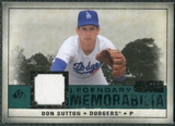 2008 Upper Deck SP Legendary Cuts Legendary Memorabilia Green #DS Don Sutton /99