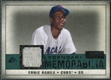 2008 Upper Deck SP Legendary Cuts Legendary Memorabilia Green Parallel #EB Ernie Banks /99