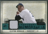 2008 Upper Deck SP Legendary Cuts Legendary Memorabilia Green Parallel #EH Elston Howard /99