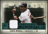 2008 Upper Deck SP Legendary Cuts Legendary Memorabilia Green #EM Eddie Murray /99