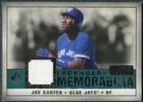 2008 Upper Deck SP Legendary Cuts Legendary Memorabilia Green #JC Joe Carter /99