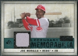 2008 Upper Deck SP Legendary Cuts Legendary Memorabilia Green #JM Joe Morgan /99