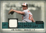 2008 Upper Deck SP Legendary Cuts Legendary Memorabilia Green #JP Jim Palmer /25