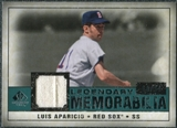 2008 Upper Deck SP Legendary Cuts Legendary Memorabilia Green Parallel #LA Luis Aparicio /99