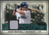2008 Upper Deck SP Legendary Cuts Legendary Memorabilia Green Parallel #MA Edgar Martinez /99