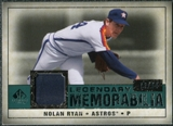 2008 Upper Deck SP Legendary Cuts Legendary Memorabilia Green Parallel #NR3 Nolan Ryan /99