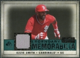 2008 Upper Deck SP Legendary Cuts Legendary Memorabilia Green Parallel #OS Ozzie Smith /99